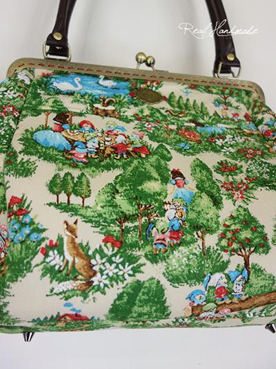 森の中の白雪姫がま口BAG